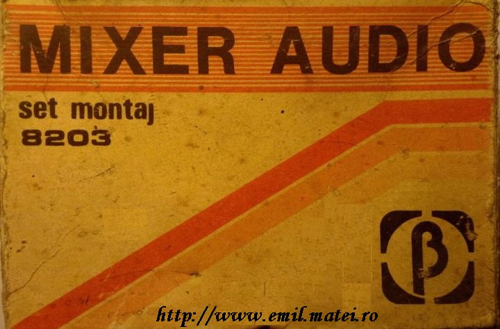 Kit IPRS Baneasa 8203 - Mixer audio