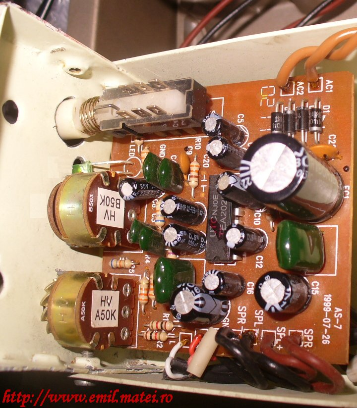 TEA2025 amplifier